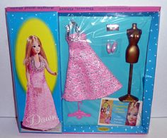 Topper Dawn 1969 SILVER STARLIGHT Outfit #0719 *NRFB Japan