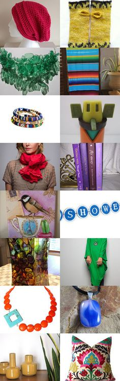 Pop of Color by Christina Wooten on Etsy--Pinned with TreasuryPin.com