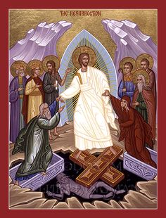 Celebrating Orthodox Pascha (Easter) Christ is risen from the dead, trampling down death by death! Spiritual Pictures, Holy Saturday, Orthodox Easter, Religion, Christ Is Risen, Easter Religious, Byzantine Icons, Orthodox Christianity, Saints
