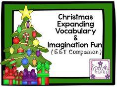 Christmas Expanding Vocabulary & Imagination Fun!