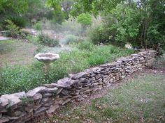 stone wall/