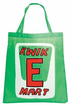 The Simpsons Reusable Shopping Bag Kwik E Mart The Simpsons http://www.amazon.com/dp/B00EXRD2K6/ref=cm_sw_r_pi_dp_dGMhvb0GHAGFJ