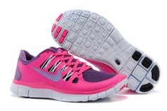Nike Free Run 5.0 Women Pink Purple Grey
