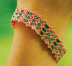 Stumped By Right Angle Weave? Try Diamond Chain! - Beading Daily
