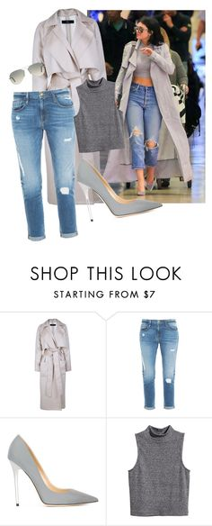 """""""OOTD #4"""" by bonittarebecca ❤ liked on Polyvore featuring TIBI, Frame Denim, Jimmy Choo, H&M and Ray-Ban"""
