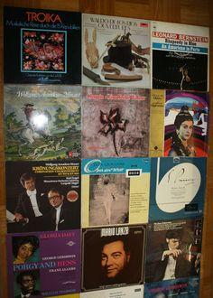 25x Vinyl 12  KLASSIK Paket A1238