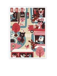 OMM Design Stad Poster (50x70cm)