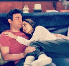 I just want to grow old with you ♡ #HIMYM #seriesfinale