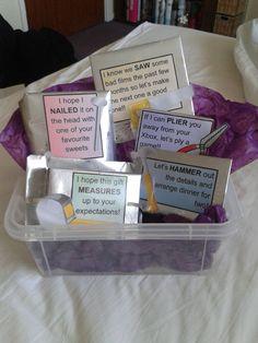 11 romantic diy valentines day gift ideas that your man will love boyfriends tool box birthday present solutioingenieria Images