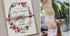 30 ideas para las invitaciones de tu boda