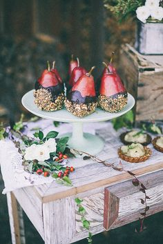 Dipped pears #Fall