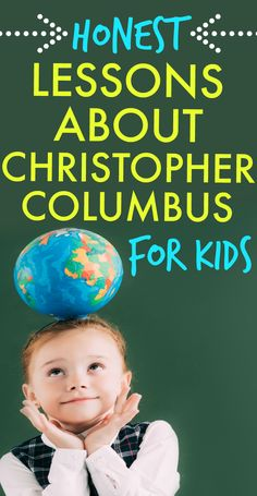 Columbus Day activities for kids and history lessons for kids. #lessonplans #historylessons #homeschooling #teaching #ChristopherColumbus