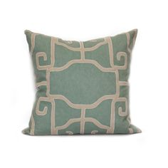 "Lantern 24"" Pillow in Various Colors design by Bliss Studio"