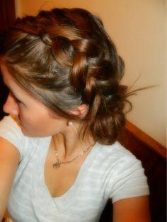 dutch braid, hairstyle