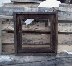 Ana White Build a Barnwood Frames - $1 and 10 minutes  and Easy DIY Project and Furniture Plans- ideas for using all my old weathered wood