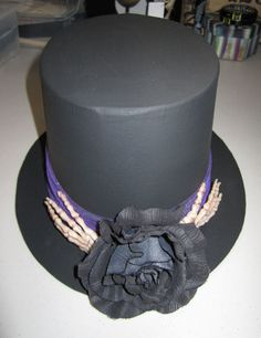 CrEEpY ToP hAt BlAcK as PiTcH 2 OOak by SauvageRavenCreation, $11.99