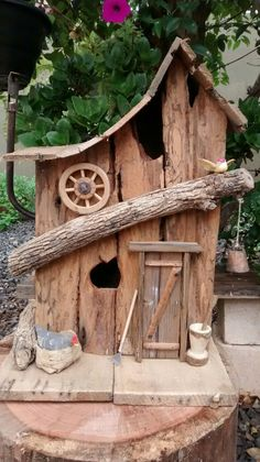 Image result for how to build a birdhouse with twigs