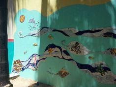 Mosaic Wall Art by Ricardo Stefani Mosaic Wall Art, Tiles, Curtains, Shower, Prints, Home Decor, Mosaic Art, Murals, Artists