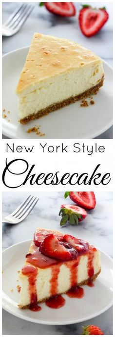 Learn how to make The Best New York-Style Cheesecake right at home!