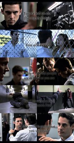 You tried to do the right thing. You trust that the people are as good as you are. But if you see yourself as a monster, pete, the guilt will eat you up. Heroes Peter Petrelli, Movies Showing, Movies And Tv Shows, Heroes Netflix, Being Human Bbc, Hero Tv Show, Heroes Tv Series, Heroes Reborn, Frases