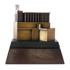 The Swinerton Co. This custom award realized a replica of the actual building in bronze. Custom Trophies, Corporate Awards, Custom Awards, Pewter, Bronze, Sculpture, Inspired, Architecture, Building