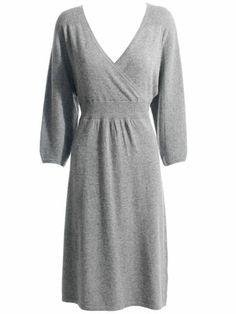 Warehouse Grey SweaterDress