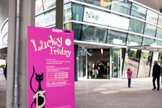 Lucky Friday in den designer outlets Wolfsburg
