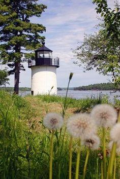 Whitlocks Mill Lighthouse, Calais, Maine by Eva0707