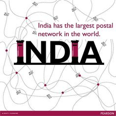 India has the largest postal network in the world with 1,54,866 post offices, of which 1,39,040 (89.78 per cent) are in the rural areas. The Department of Posts has been the backbone of India's communication network for the last 150 years.