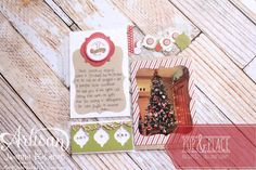 Pop & Place Pocket Page Jeanna Bohanon 2013 Stampin' Up! Artisan Design Team