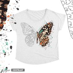 Butterfly on Threadless
