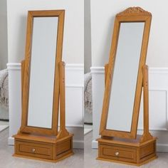 Dressing and grroming is easier than ever before with the Belham Living Removable Decorative Top Cheval Mirror - Oak - x in. The mirror,. Cheval Mirror, New Furniture, 21st, How To Remove, Wall Decor, Walmart, Fancy, Israel, House