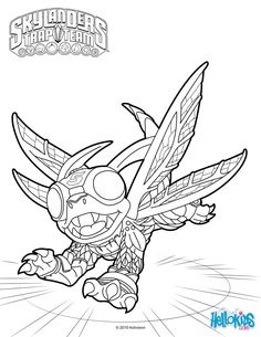 color online 4 kids coloring pages pinterest coloring pages game and coloring - Skylanders Coloring Pages Online