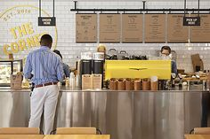 "McDonald's Opens New Healthy Cafe ""The Corner"" as Part of $1 Billion Remodelling Strategy"