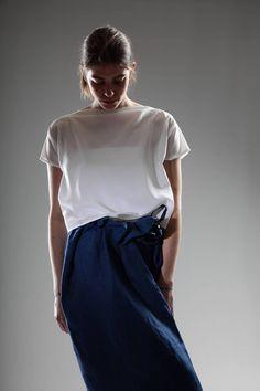 Daniela Gregis Niki Shirt In Silk Crêpe De Chine