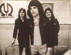 Roger Taylor, Freddie Mercury, John Deacon