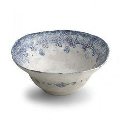 Venice Collection Ceramic Dinnerware | Small Serving Bowl
