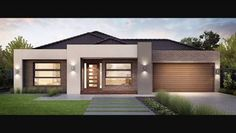 Image result for single story home facades