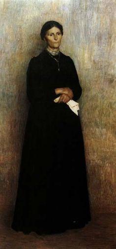 Pellizza da Volpedo - Ritratto della madre.