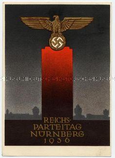 Postkarte zum Reichsparteitag 1936