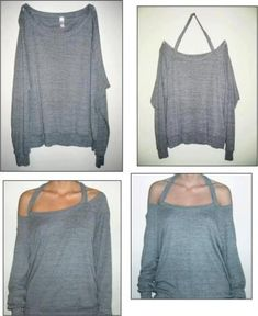 Make a whole new shirt in a matter of minutes!