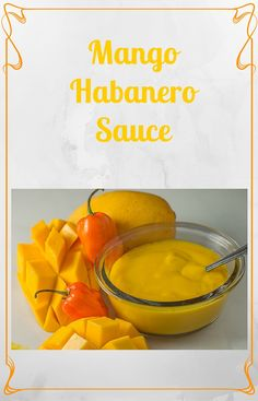 This Mango Habanero Sauce is perfect in your mouth...not so much in your eyes. Can you guess how I learned this lesson?