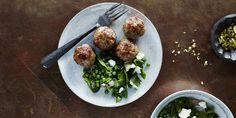 I Quit Sugar - Beef Pea + Zucchini Meatball recipe.