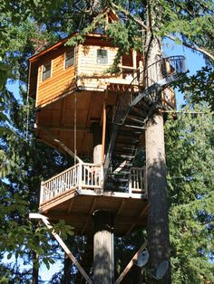 """For Everyone: Majestree """"Treesort"""" in Treehouses for Kids and Adults from HGTV"""