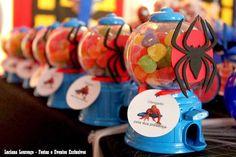 Encontrando Ideias: Festa Homem Aranha!!