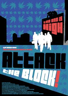 Attack the Block / poster by Russell Ford