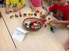 Wonders in Kindergarten: How many different 3-D figures can you make?