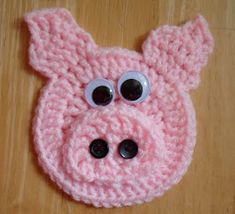 I'm sure it won't surprise many folks to know I picked up some pink yarn shortly after I began playing with crocheting. I decided a little p...
