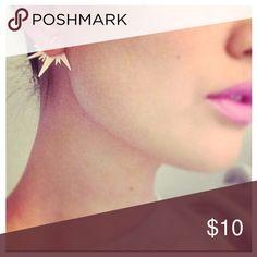 Cut Earrings 👜💖 Lightning Stud Earrings     🙎👜 Jewelry Earrings