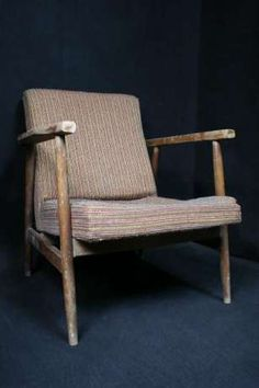 Fotel PRL lata 60 te Loft Art Deco Lis Chierowski 366 Radom - image 1